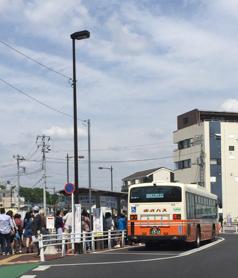 鶴瀬駅バス乗り場