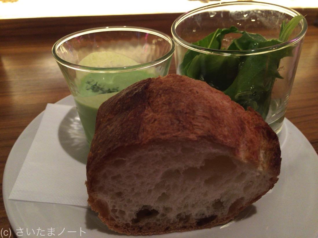 サラダ・スープ・パン