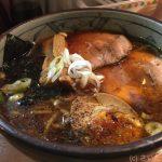 葱次郎でモチモチ麺の本格醤油ラーメン!
